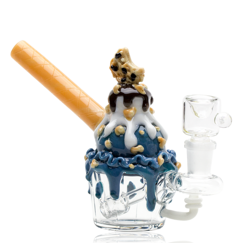 Cookie Monster Sundae Rig by Empire Glassworks