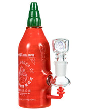 Load image into Gallery viewer, Sriracha Hot Sauce Rig by Empire Glassworks