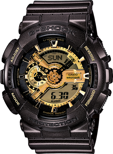 Garish Colour Series G-SHOCK Watch GA110BR-5A