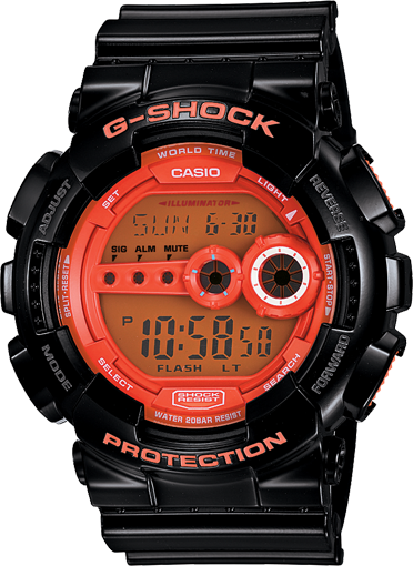 High-Intensity G-SHOCK Watch GD100HC-1