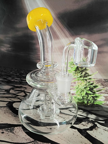 Dab Rig w/ Percolator by Envy Glass **SALE**