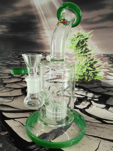 Cylinder Perc Bubbler Bong by iRie