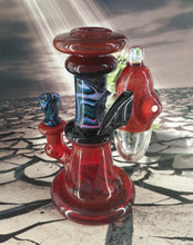 Load image into Gallery viewer, Spaceship Bong by G-Check Glass