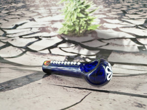 Flower Dot Pipe by Red Eye Glass