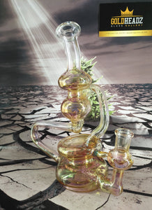 Genies Bottle Recycler by Dan Rushin Glass