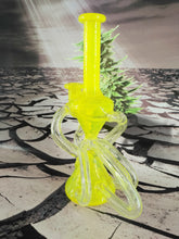 Load image into Gallery viewer, 3 Line Yellow Hourglass Recycler by MIMZY