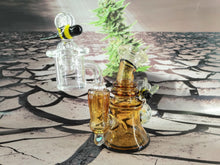 Load image into Gallery viewer, Mini Bee Hive Dab Rig by Jesse Briggs