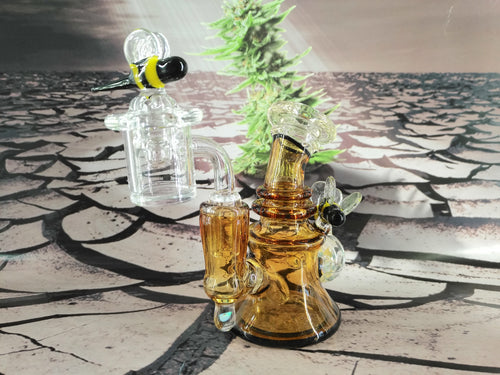 Mini Bee Hive Dab Rig by Jesse Briggs