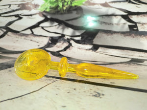 Honey Swirl Dabber/Carb Cap by Happy Time Glass