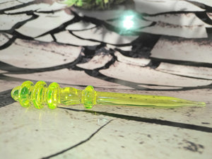 UFO Green Dabber by Sweers Glass