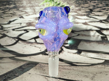 Load image into Gallery viewer, Three Eyed Mutant Bowl by Ghost Cat Glass