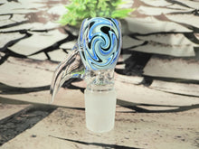 Load image into Gallery viewer, Blue Swirls Bowl 18mm by GEAR Premium
