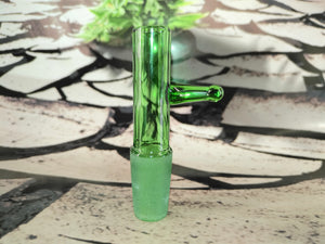 Green Popper Piece by Nice Glass