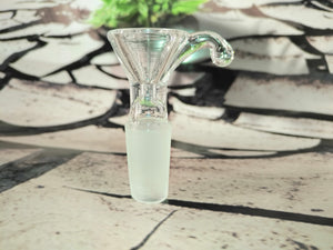 Clear Handle Bowl 14mm by Nice Glass
