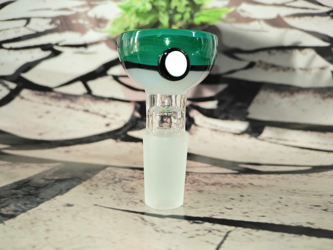 Green Pokeball Bowl 14mm by OG Original