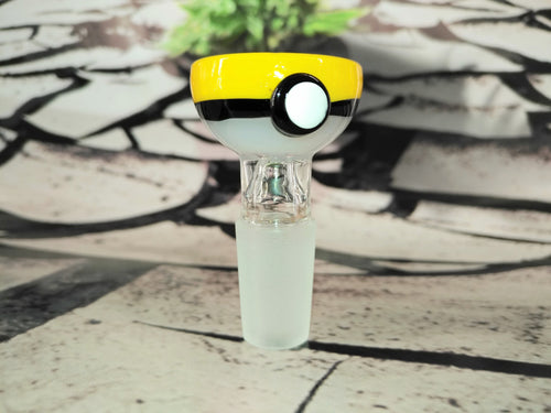 Yellow Pokeball Bowl 14mm by OG Original