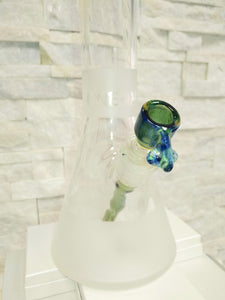 Blue/Green Beaker Bong by ONE-OFF