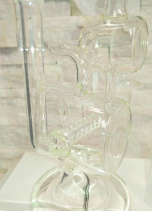 Cylinder Recycler Dab Rig by Red Eye Tek