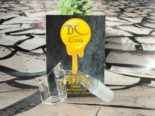 Glob Stopper XXL Quartz Banger 14mm/45°/Male by DC Glass