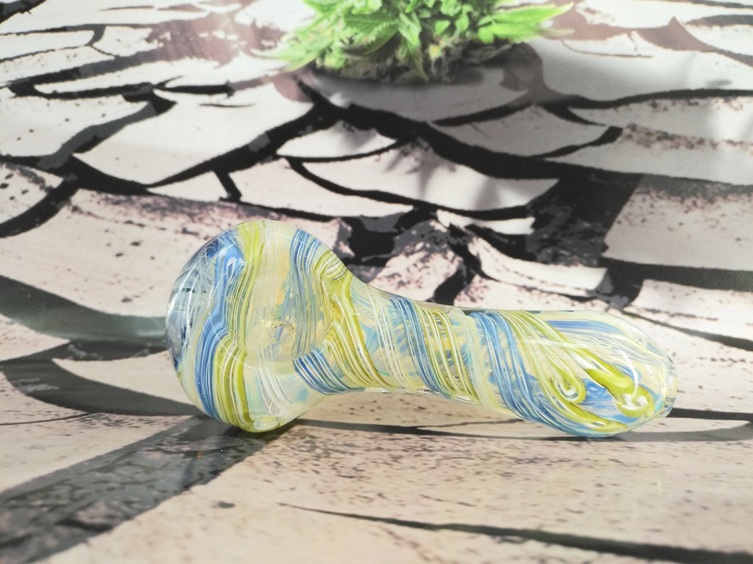 Blue Flower Pipe by OG Original