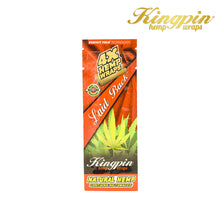 Load image into Gallery viewer, Kingpin Laid Back Hemp Wraps 4 Pack