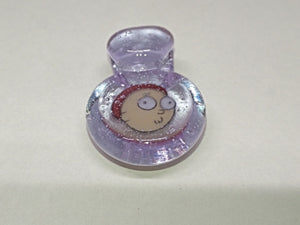 Morty Smith Glass Pendant by Entangled Glass