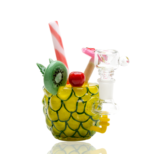 Pineapple Paradise Rig by Empire Glassworks