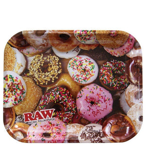 Donuts Large Metal Rolling Tray by RAW