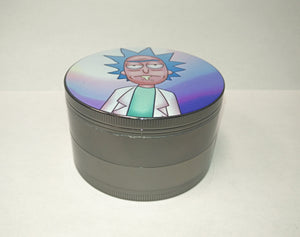"Rick & Morty ""Rick Sanchez"" Large 4 Piece Grinder"