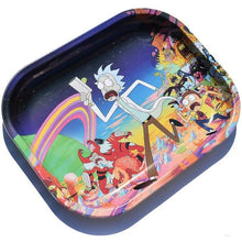 Load image into Gallery viewer, The Rick & Morty Universe Metal Rolling Tray - Small
