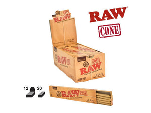 RAW Lean Pre-rolled Cones - 20/Pack