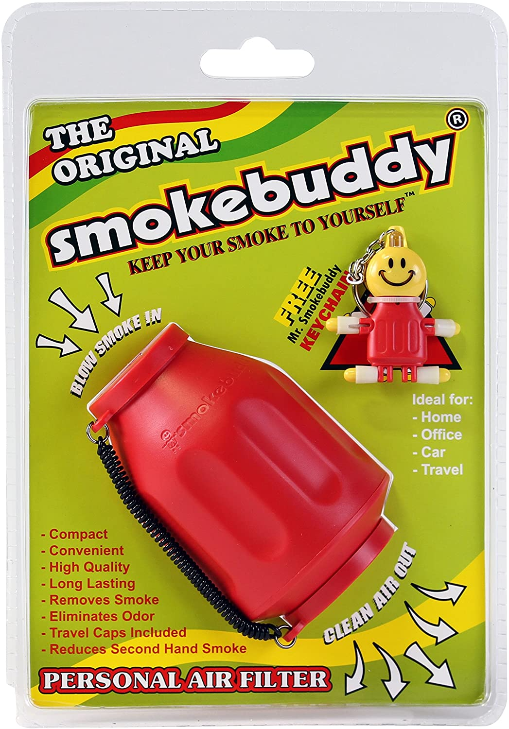 Smokebuddy Red Personal Air Filter