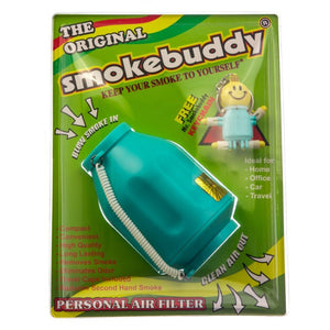 Smokebuddy Teal Personal Air Filter