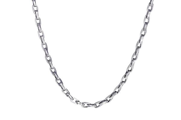 Tuxedo Stainless Steel Chain Link Necklace by ITALGEM
