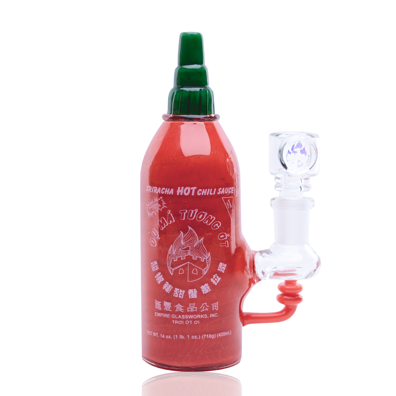 Sriracha Hot Sauce Rig by Empire Glassworks