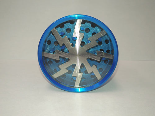 Clear Top Lighting Blue Grinder