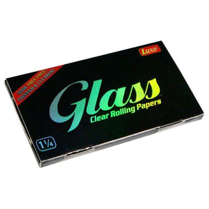 "Glass Clear 1""1/4 Rolling Papers"