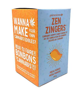 Zen Zingers Mega Mango Gummy Candy Making Kit
