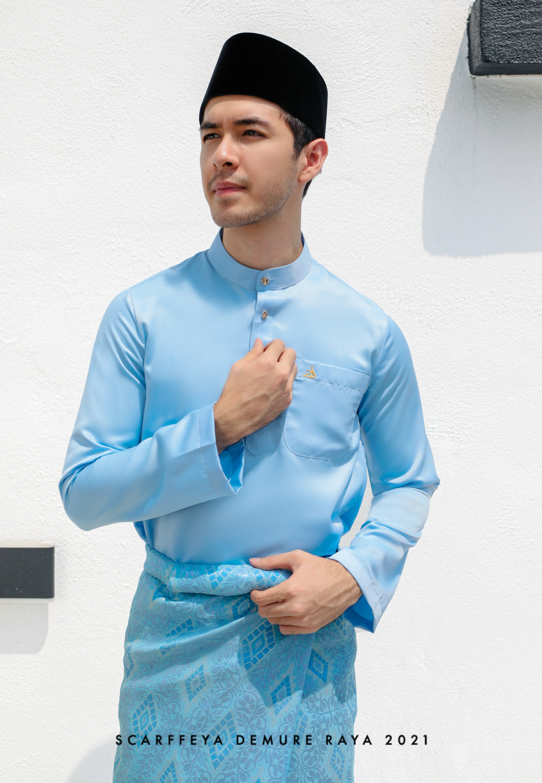 ZEYDAN LIGHT BLUE LUXE SLIM FIT