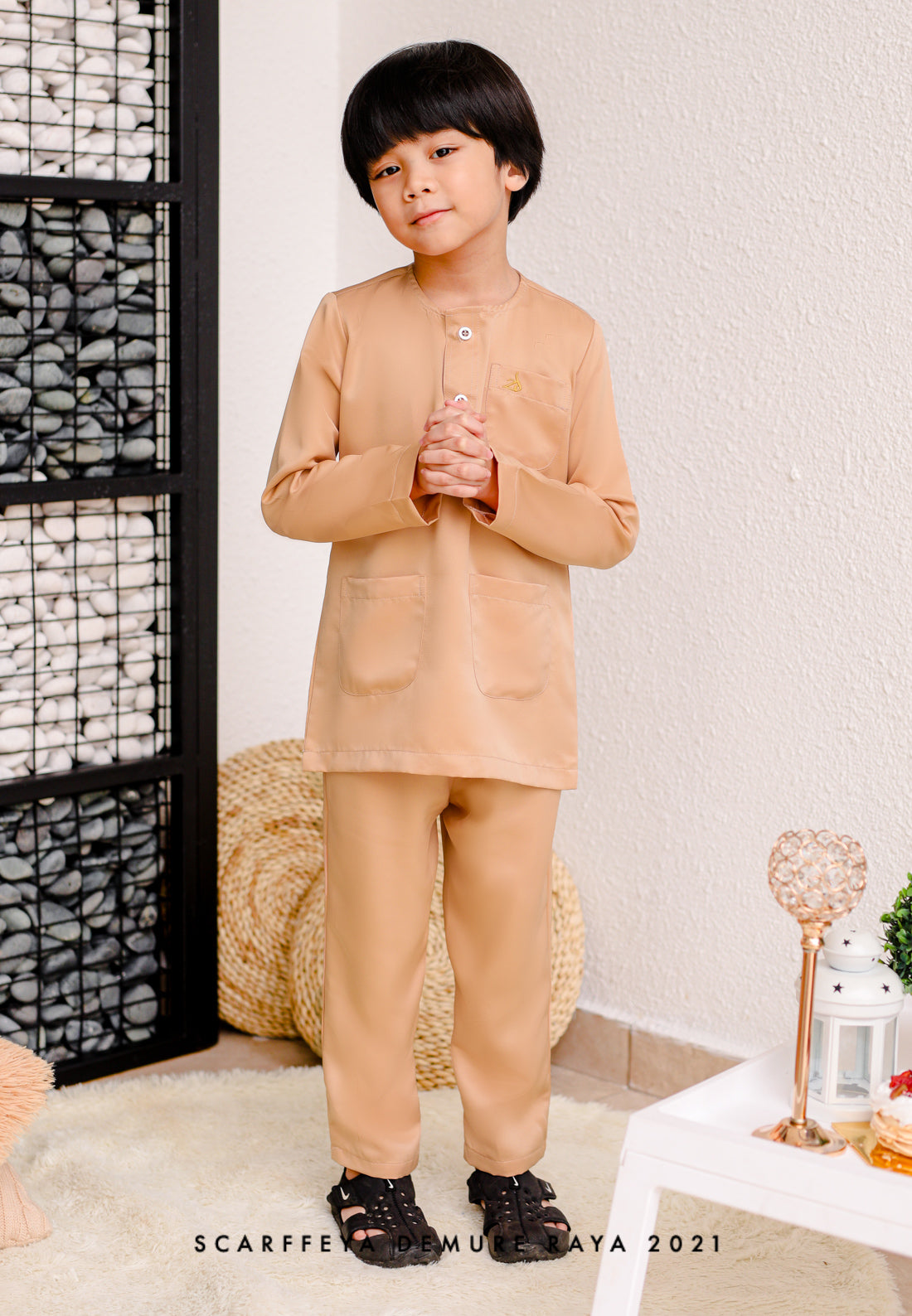 ZEYDAN KIDS NUDE BROWN