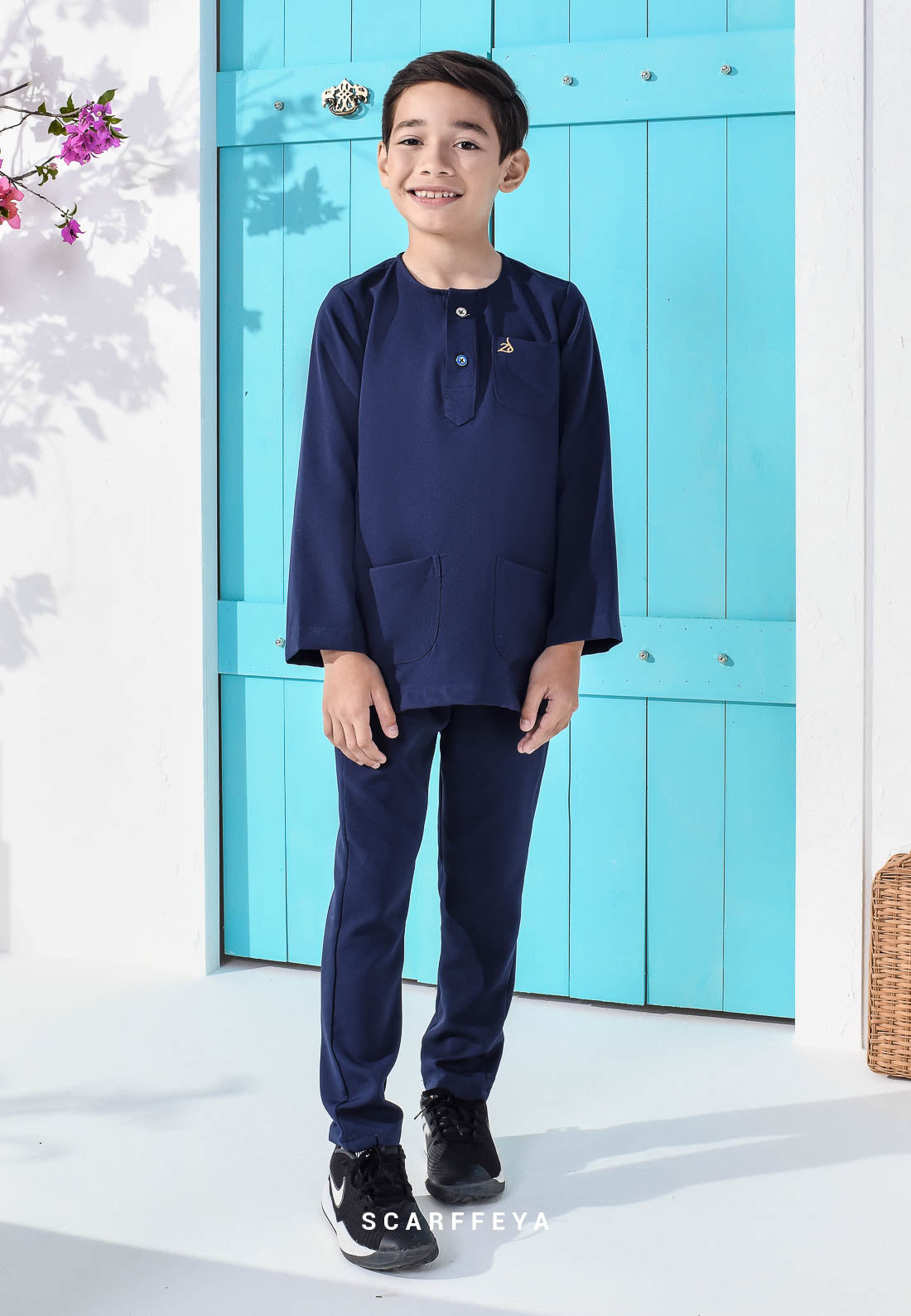 ZEYDAN KIDS (NAVY BLUE)
