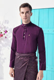 ZEYDAN DARK PURPLE LUXE SLIM FIT (RM189)