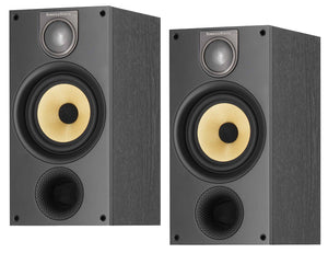 Bowers & Wilkins 686 S2 standmount speaker black ex-demonstration