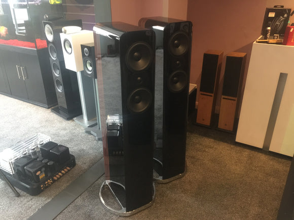 Q Acoustics Concept 500 Speakers EX-Demonstration Piano Black Pair RRP £4000