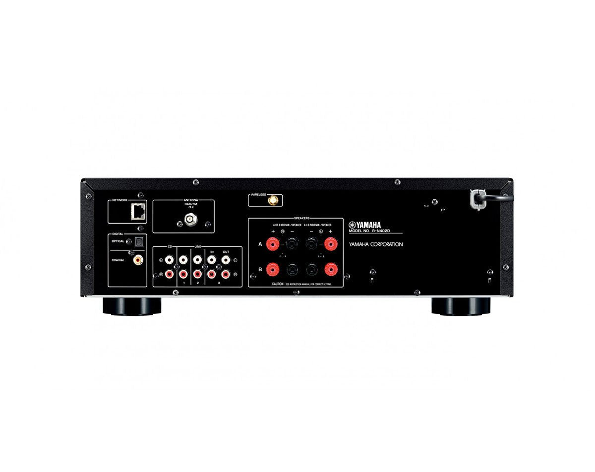 yamaha r n402d swiss army knife integrated amp the audio. Black Bedroom Furniture Sets. Home Design Ideas