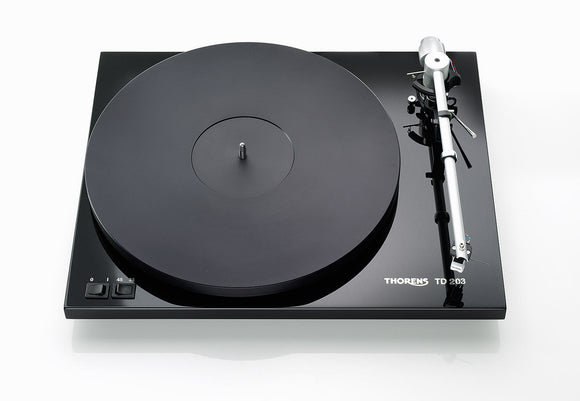 Thorens TD - 203 Turntable with Uni-Pivot Tonearm