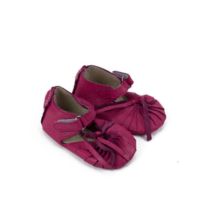 SoJo Moccs - Twisted Leather  Bella - Pink Baby Moccasin Sandals