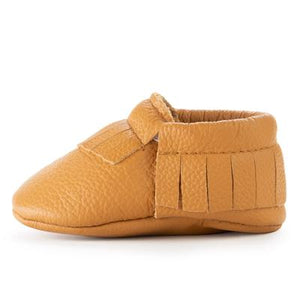 BirdRock Baby - Ginger Genuine Leather Baby Moccasins