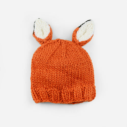 The Blueberry Hill - Rusty Fox Knit Hat
