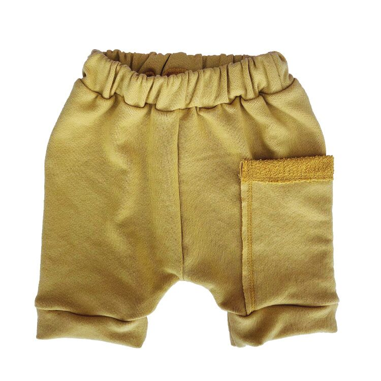 Wee Monster - Mustard Harem Shorts